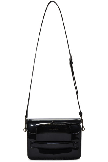 Marc Jacobs - Silver Patent Leather Medium Madison Bag
