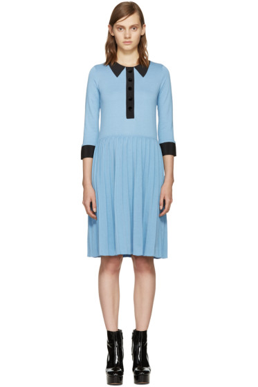 Marc Jacobs - Blue Trompe L'Oeil Dress