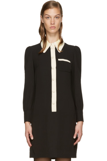 Marc Jacobs - Black Button-Up Dress