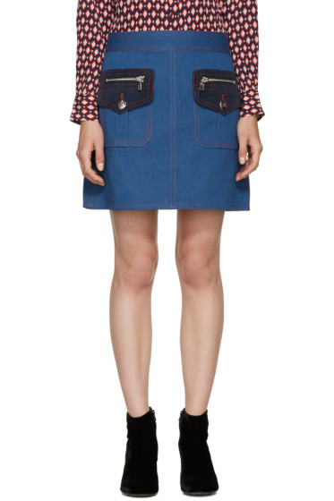 Marc Jacobs - Blue Denim Skirt