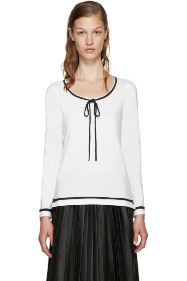 Marc Jacobs - White Jersey T-Shirt