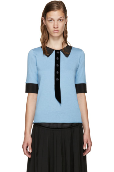 Marc Jacobs - Blue Trompe L'Oeil Sweater