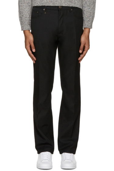 Marc Jacobs - Black Wool Twill Trousers