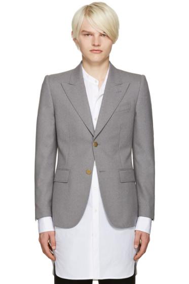 Marc Jacobs - Grey Slim Sutton Suiting Blazer