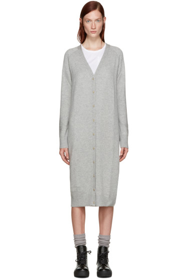 T by Alexander Wang - Grey Long Cardigan