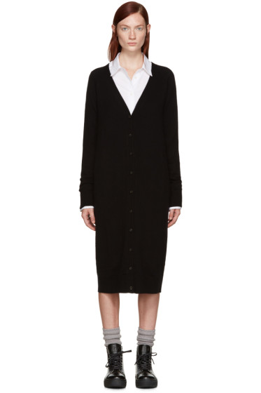 T by Alexander Wang - Black Long Cardigan