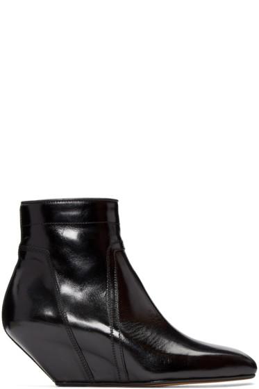 Rick Owens - Black Sliver Boots