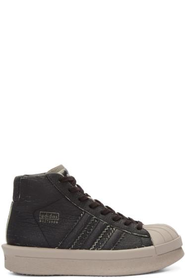 Rick Owens - Black adidas Edition Mastodon Pro Model High-Top Sneakers