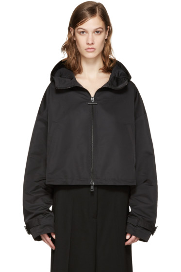 Jil Sander - Black Biribol Hooded Jacket