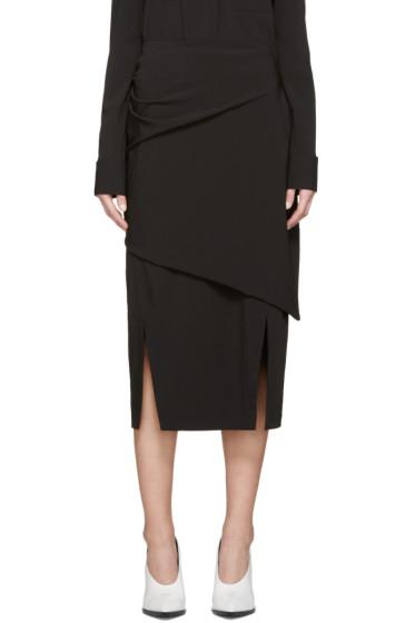 Jil Sander - Black Bacon Skirt