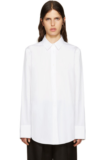 Jil Sander - White Beatrice Blouse