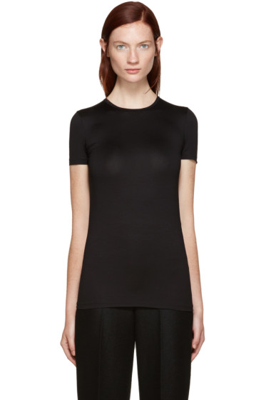 Jil Sander - Black Stretch Cotton T-Shirt