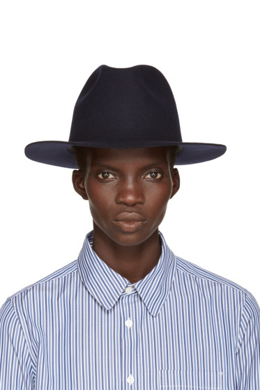 A.P.C. - Navy Fishing Fedora
