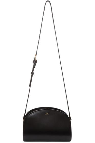 A.P.C. - Black Half-Moon Bag