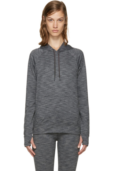 A.P.C. x Outdoor Voices - Grey Running Hoodie
