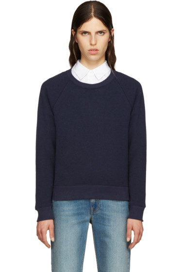 A.P.C. - Navy Sweat Running Pullover