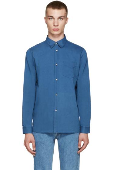A.P.C. - Indigo Saturday Shirt