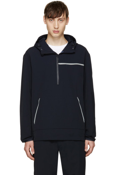A.P.C. x Outdoor Voices - Navy Running Anorak