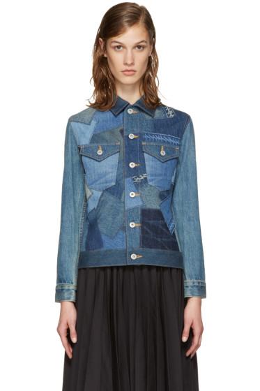 Junya Watanabe - Indigo Patchwork Jacket