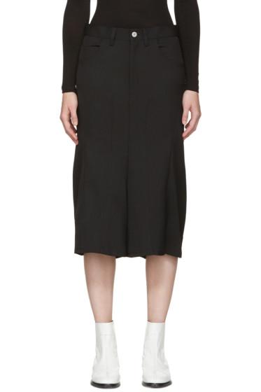 Junya Watanabe - Black Cropped Trousers