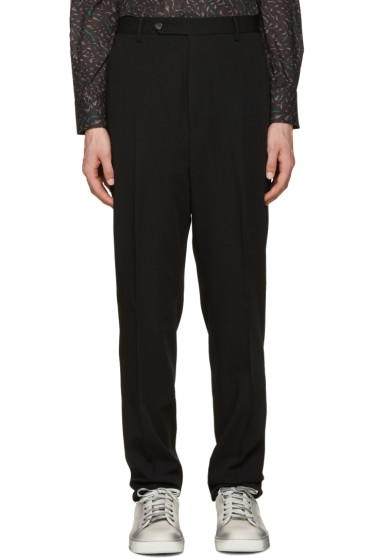 Lanvin - Black Wool Trousers
