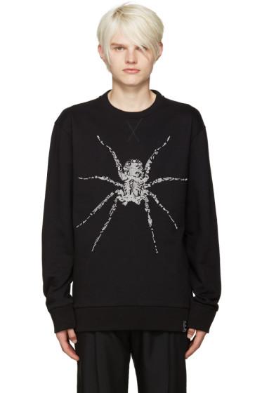 Lanvin - Black Beaded Spider Pullover