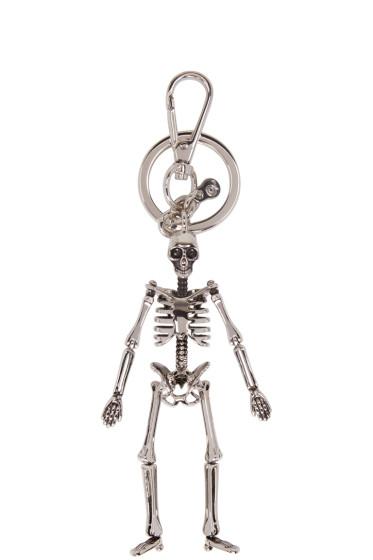 Alexander McQueen - Silver Skeleton Keychain