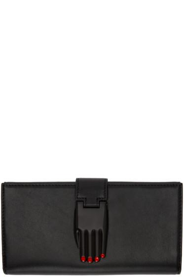 Opening Ceremony - Black Leather Misha Wallet