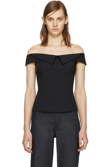 Opening Ceremony - Black William Off-the-Shoulder Top