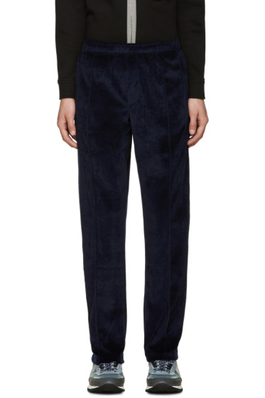 Opening Ceremony - Navy Velour Track Pants