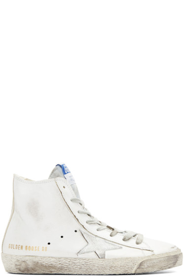 Golden Goose - White Francy High Top Sneakers