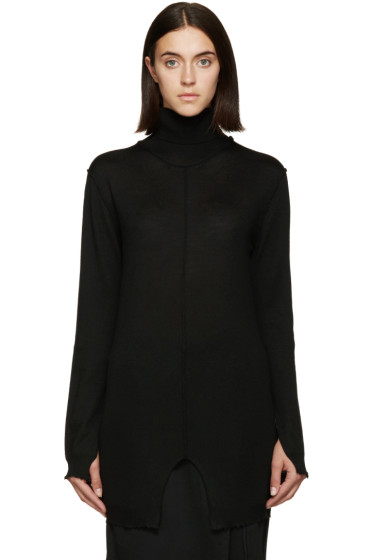 Damir Doma - Black Kandinsky Turtleneck