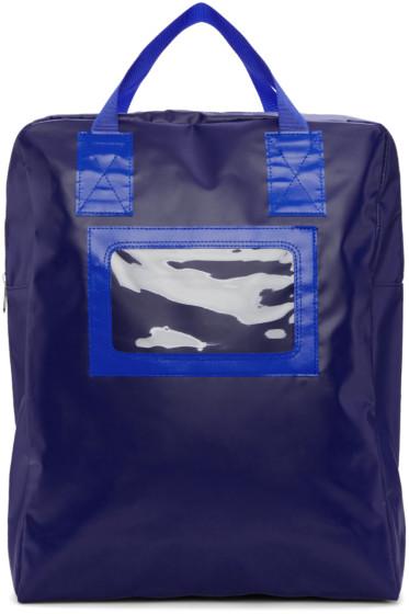 Comme des Garçons Shirt - Blue Tarpaulin Backpack