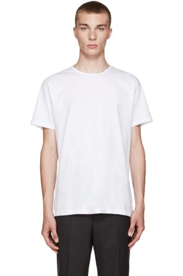 Comme des Garçons Shirt - White Basic T-Shirt