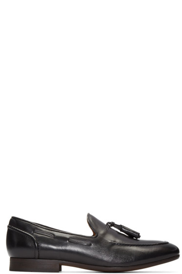 H by Hudson - Black Pierre Loafers