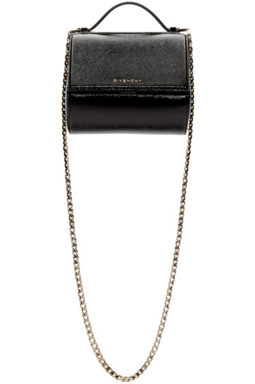Givenchy - Black Mini Chain Pandora Box Bag
