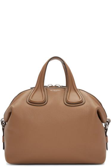 Givenchy - Tan Medium Nightingale Bag