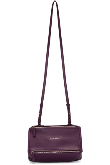 Givenchy - Purple Mini Pandora Bag