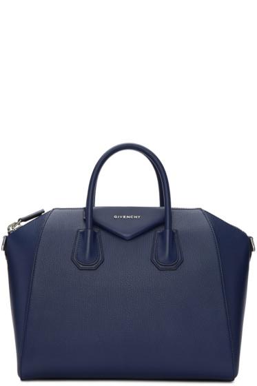 Givenchy - Blue Medium Antigona Bag