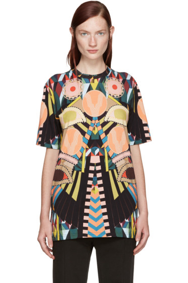 Givenchy - Multicolor Eyes T-Shirt