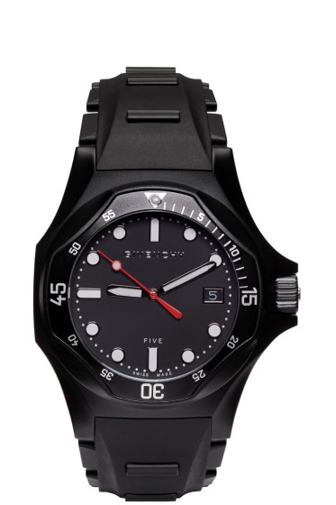 Givenchy - Black Five Shark Watch