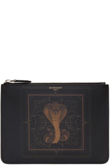 Givenchy - Black Cobra Pouch