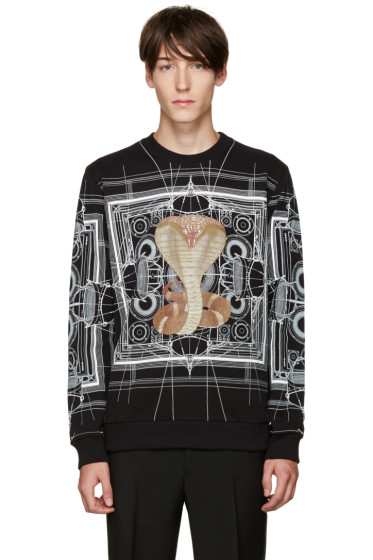 Givenchy - Black Cobra Pullover