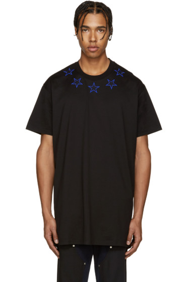 Givenchy - Black Stars T-Shirt