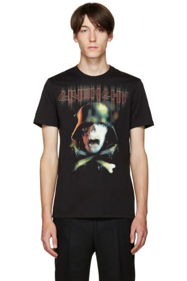 Givenchy - Black Skull T-Shirt
