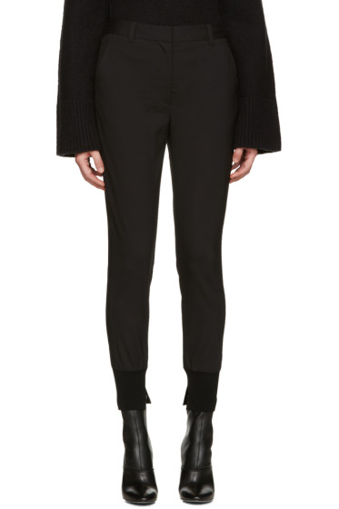 3.1 Phillip Lim - Black Jogger Trousers