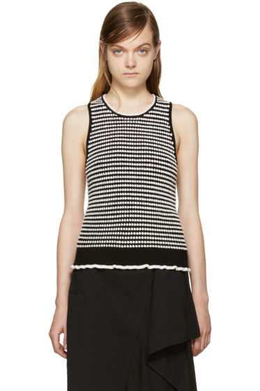 3.1 Phillip Lim - Black & White Knit Top
