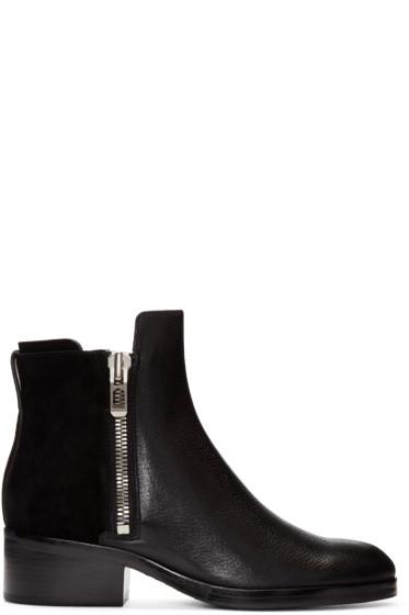 3.1 Phillip Lim - Black Alexa Ankle Boots