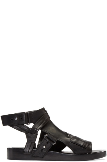 3.1 Phillip Lim - Black Nagano Winter Sandals