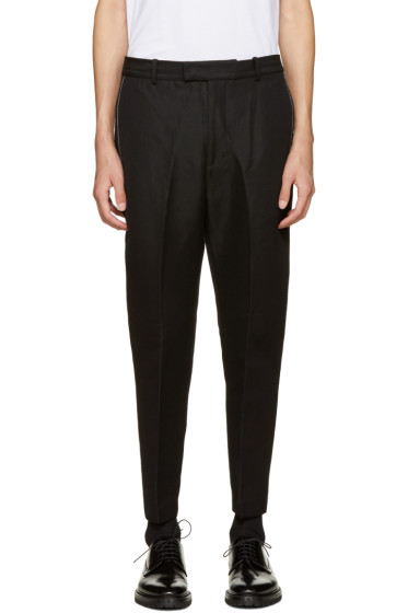 3.1 Phillip Lim - Black Classic Tapered Trousers